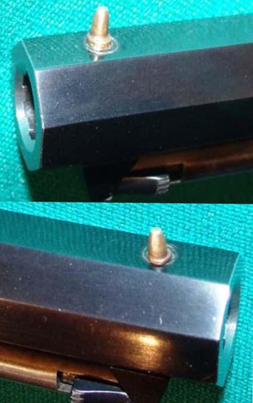 Réplique Colt 1851 NAVY PEDERSOLI Calibre 36 KFvuTDzan03_Point-de-mire-502x800