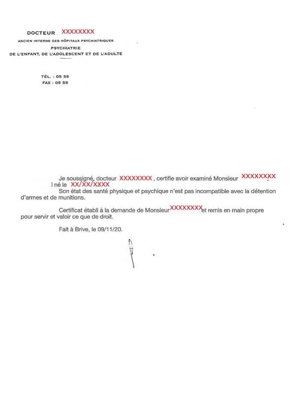 Lien de le FFTir pour télécharger le certificat médical KGmhOTLkP33_Certificat-psychiatrique-9-Novembre-2020-forum-590x800