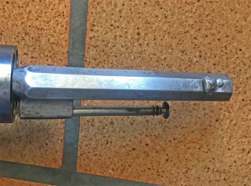 Restauration Revolver à Broche 9,70 mm Lefaucheux KIhnWIbtzk3_Confection-Guidon-6-800x595